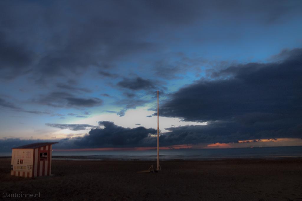 Sunset at Oostende 090607_-_0271-Edit