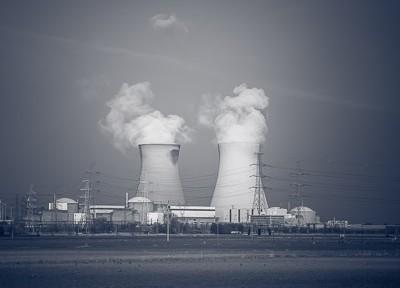 Kerncentrale Doel, nabij Antwerpen (maart 2014)