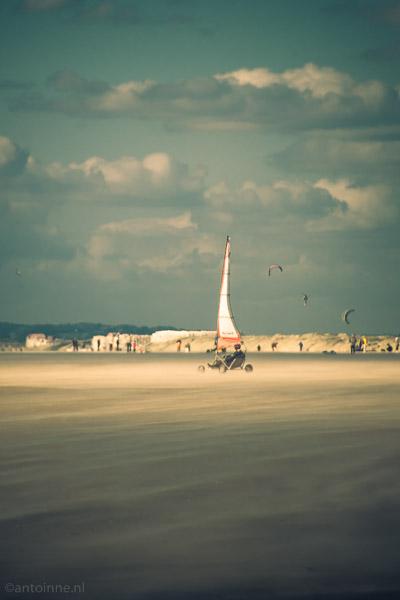 Sand yacht (Berck-sur-Mer)