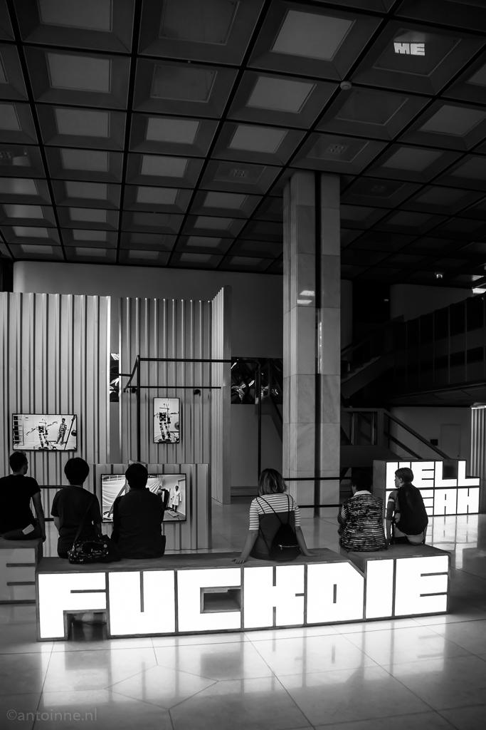 Hell Yeah We Fuck Die (Hito Steyerl, Skulptur Projekte Münster 2017)