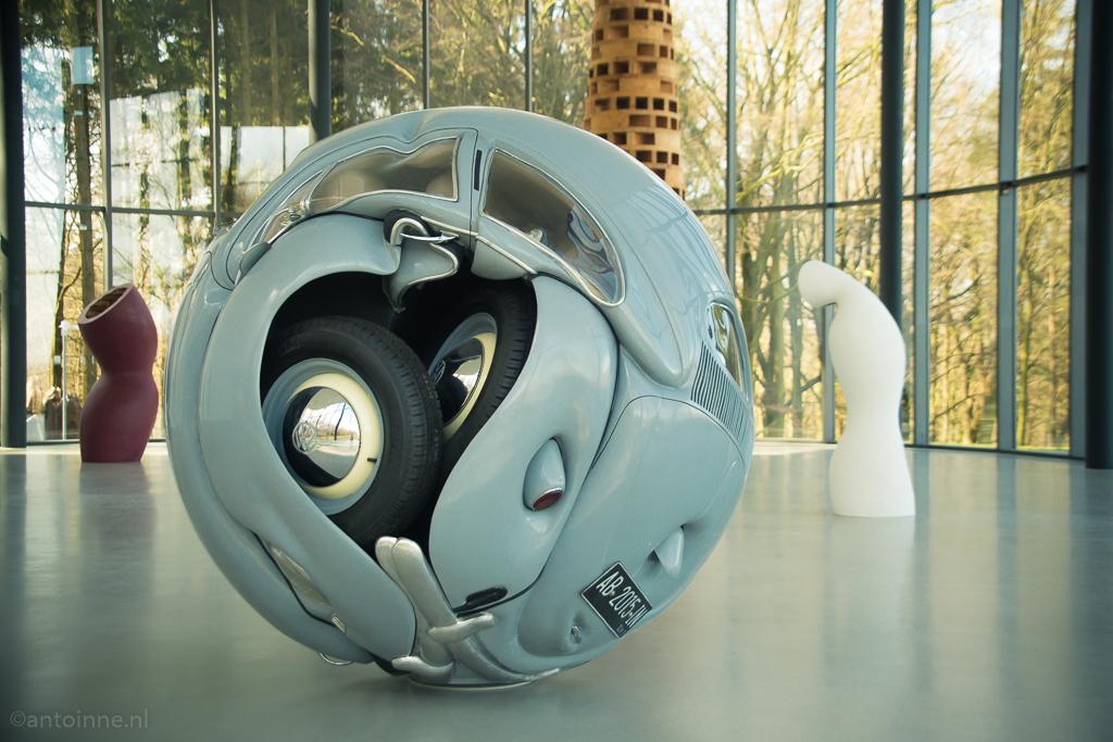 Beetle Sphere by Ichwan Noor (Skulpturen­park Wald­frieden)