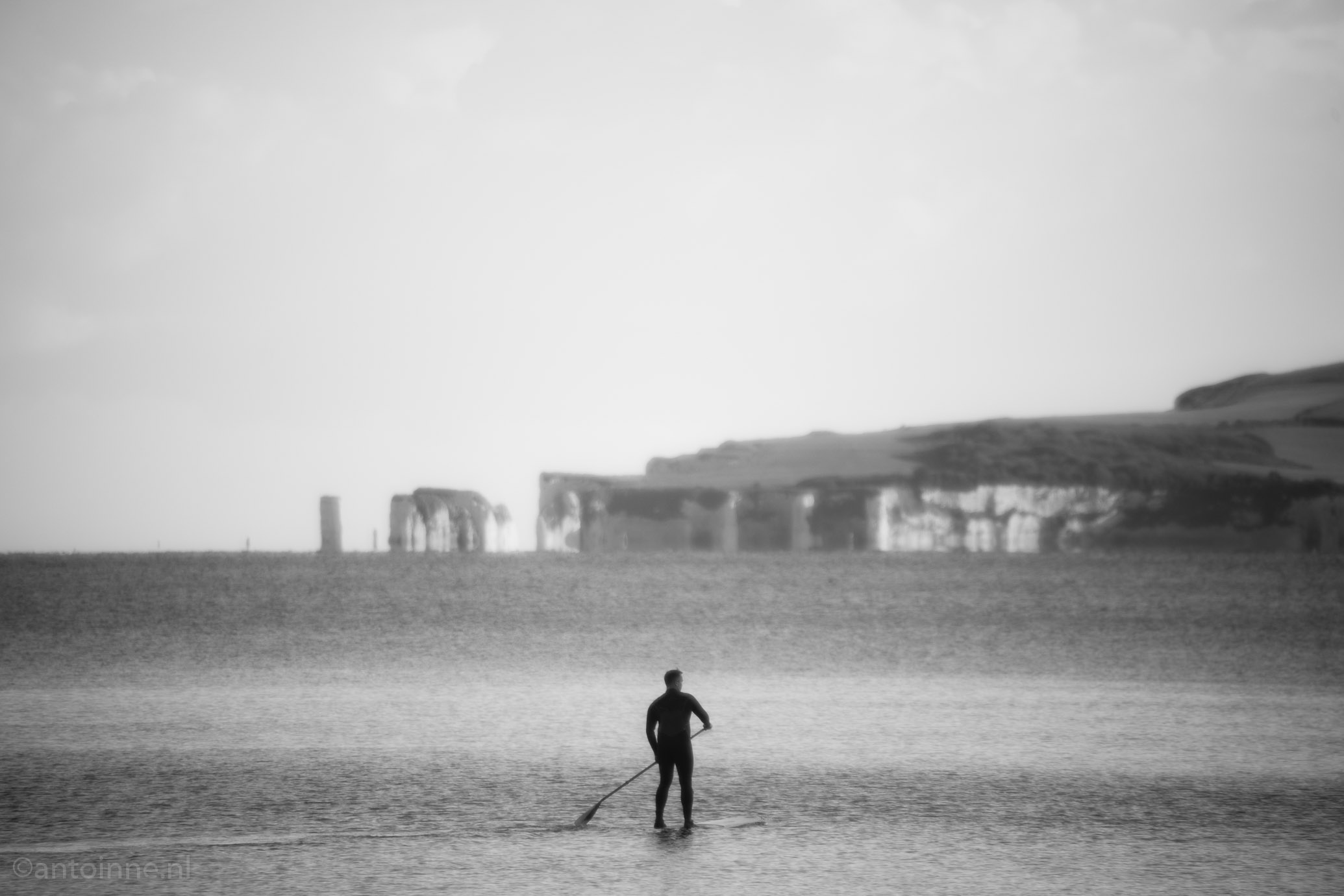 Paddle boarder (Bournemouth)