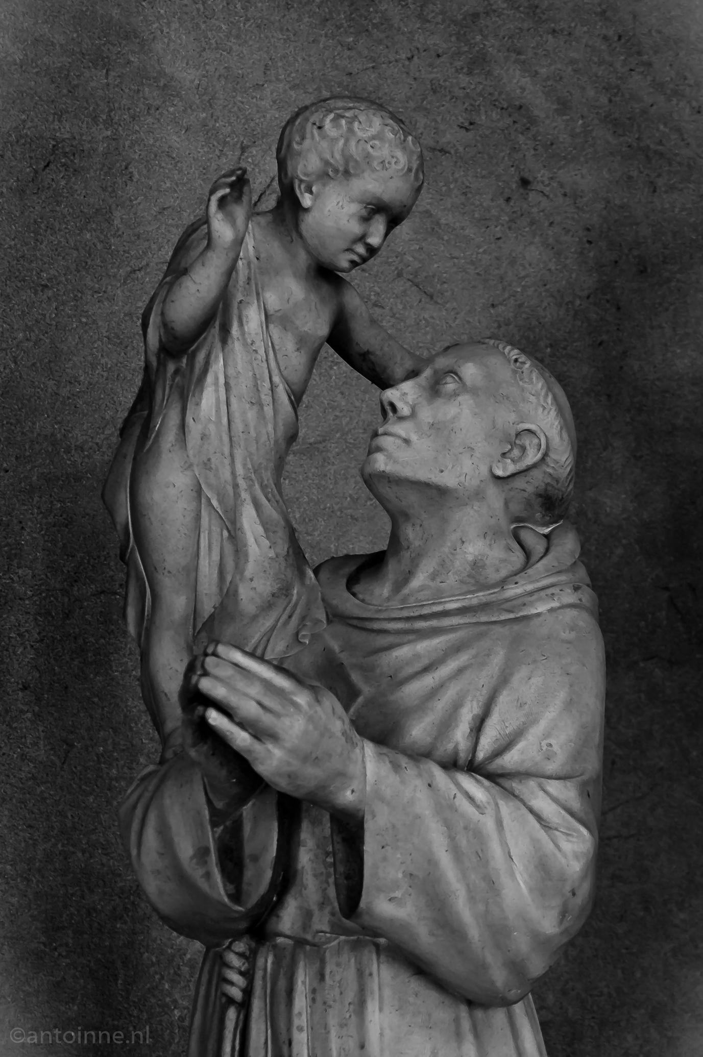 Saint Antoine dans la cathédrale de Reims (2008)