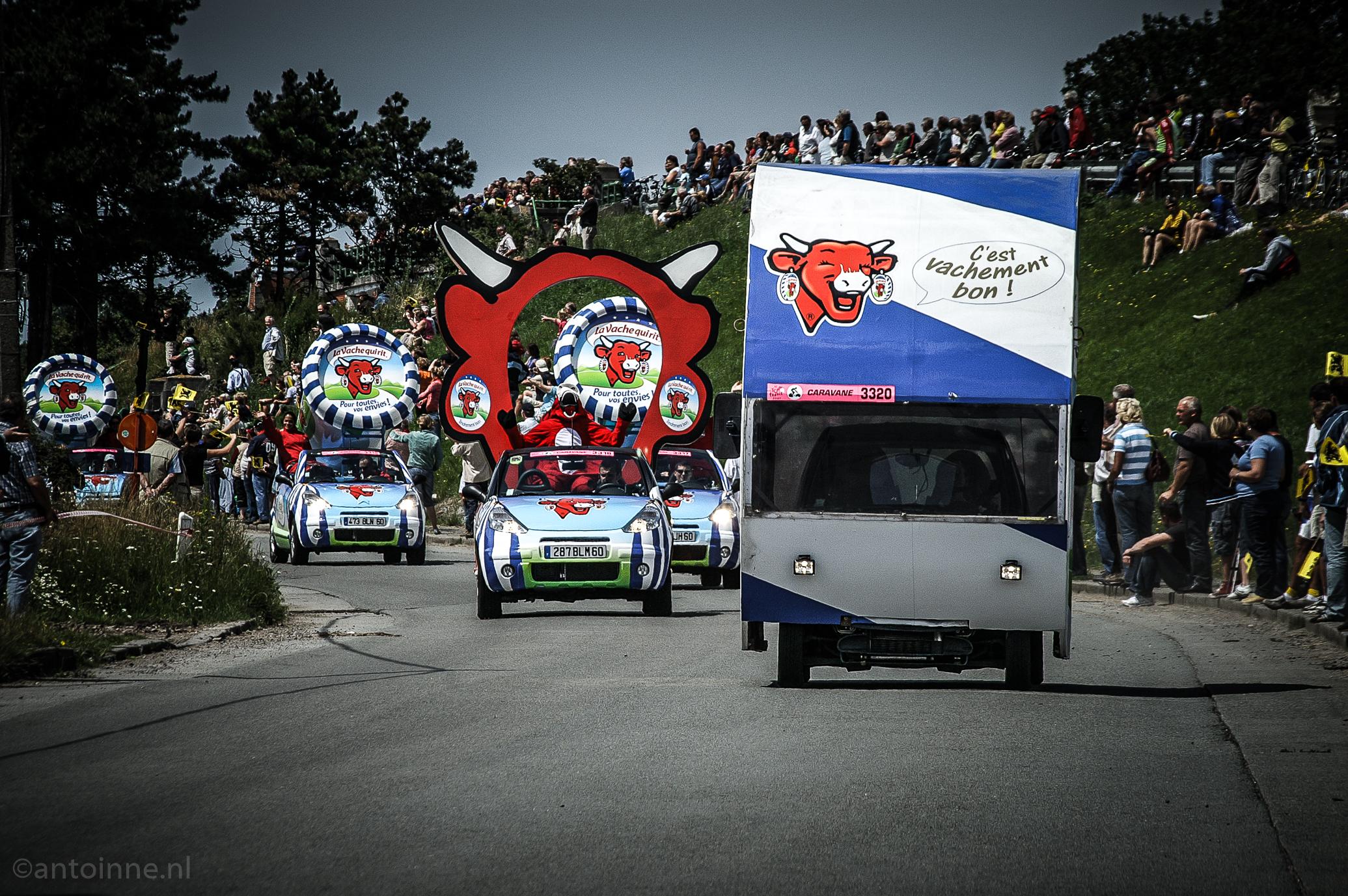 La caravane publicitaire du Tour de France (Dunkerque - Gand, 2007)